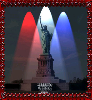 (Statute of Lady) Liberty Rising